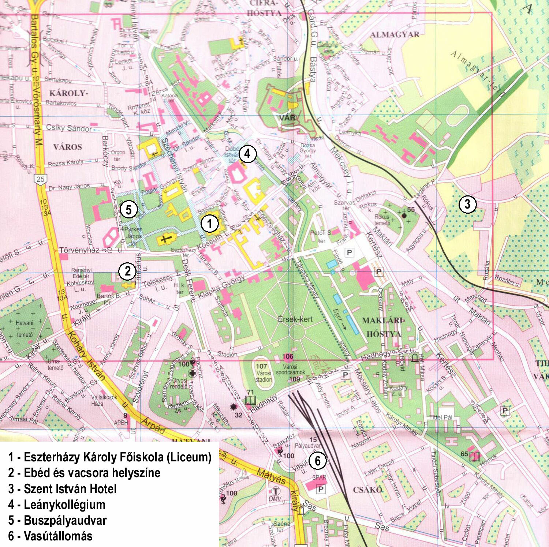 eger vasútállomás térkép 3. MTBK :: Fõlap eger vasútállomás térkép